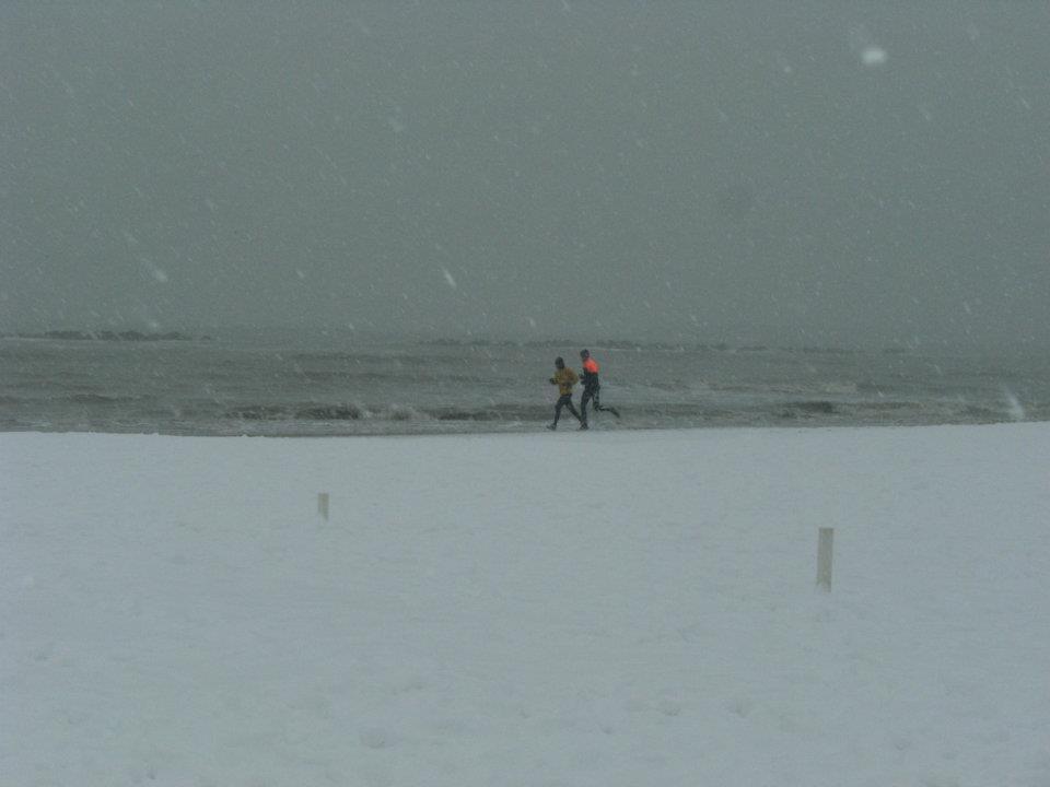 Abruzzo: neve, vento e gelo, arriva l'Inverno