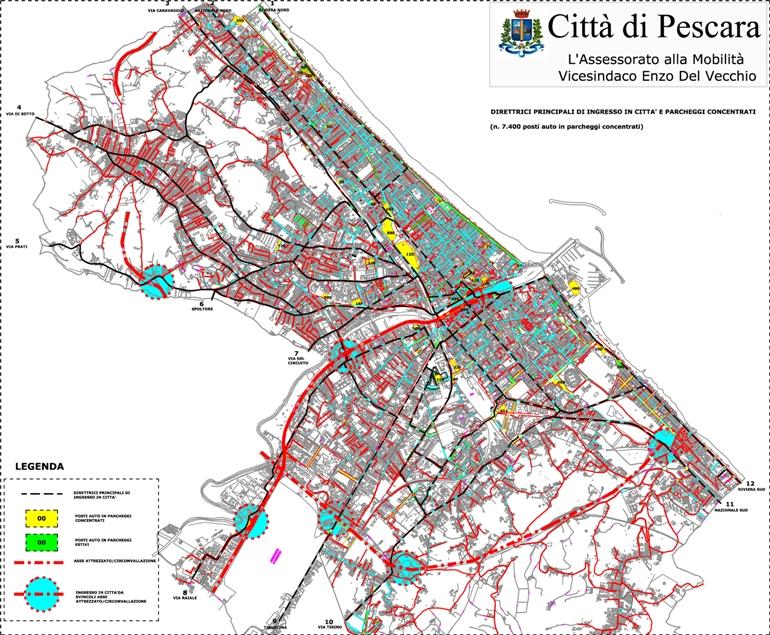 Targhe alterne a Pescara, firmata l'ordinanza. Proteste dei commercianti