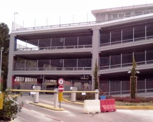 Teramo, Ospedale Mazzini, il parcheggio è gratis