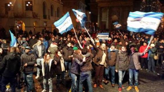 No Ombrina, brindisi di Capodanno in piazza a Lanciano