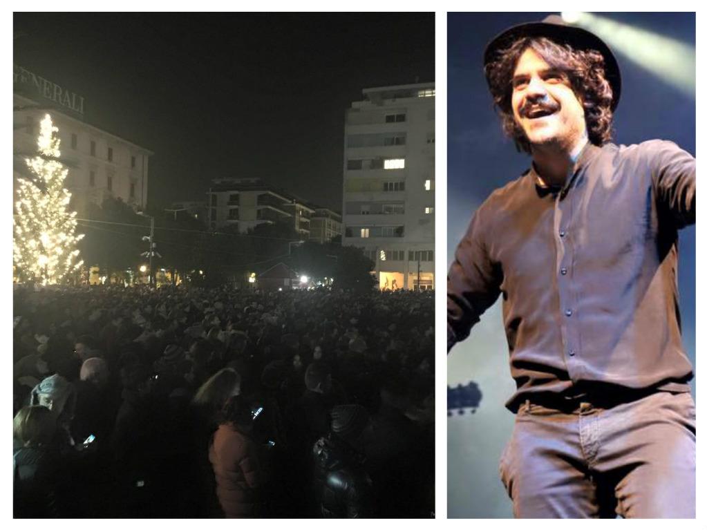 Capodanno in piazza: in 20.000 a Pescara per Mannarino