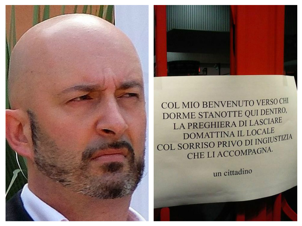 Pescara: fa dormire senzatetto nel suo negozio per la notte
