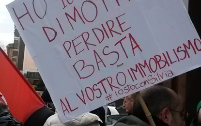 Elettrodotto: Solidarietà per attivista citata da Terna
