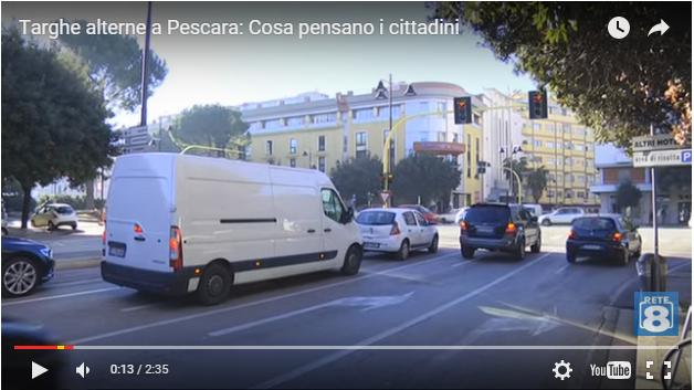 Pescara: targhe alterne, gli automobilisti si organizzano