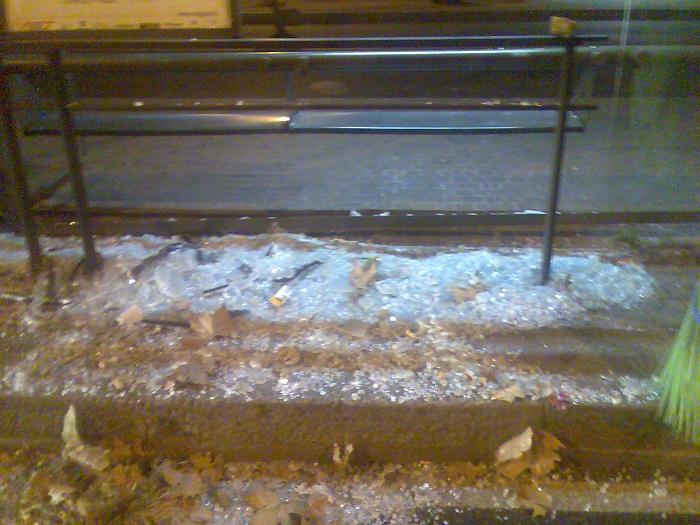 Montesilvano: vandali in azione sulla strada parco