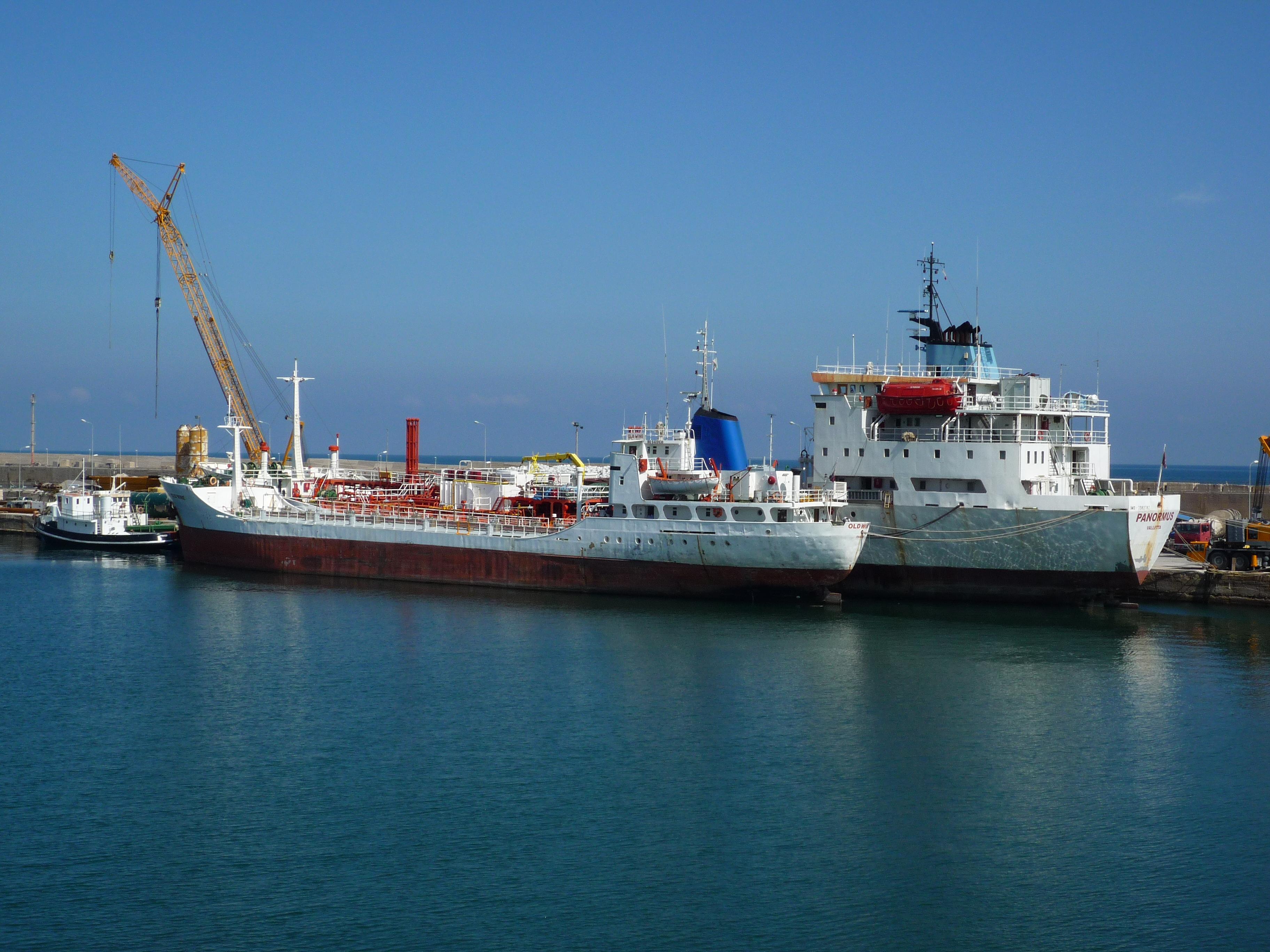 Fermo per nave battente bandiera panamense