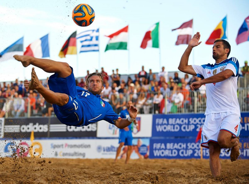 Beach Soccer, Silvi Marina di nuovo capitale dell'estate 2016
