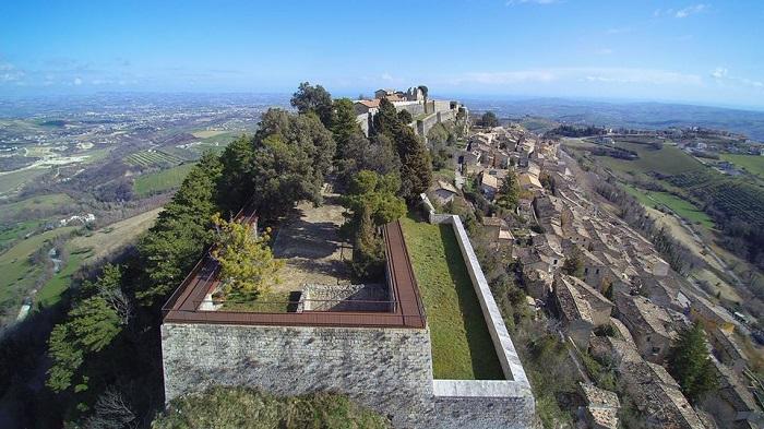 Fortezza Civitella monumento più visitato d'Abruzzo