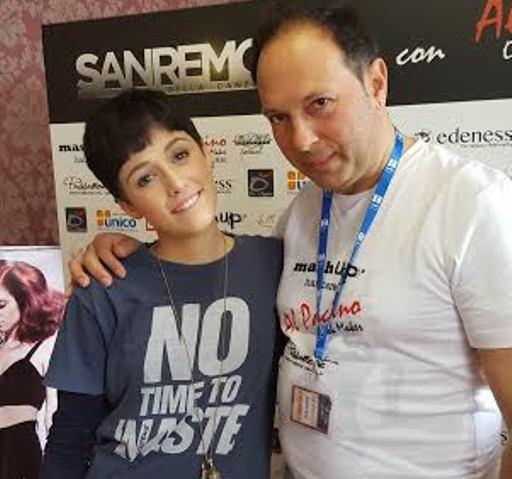 Al Festival di Sanremo parrucchiere di Paglieta