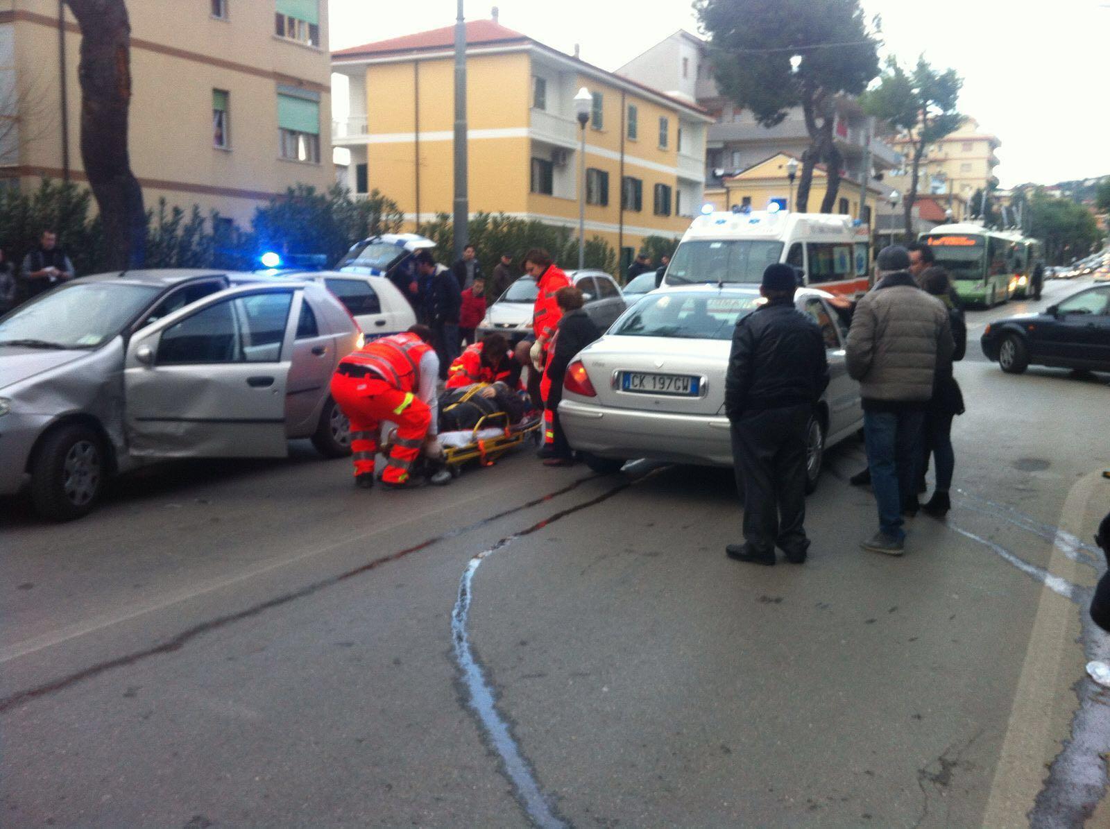 Incidente lungo la Colonnetta a Chieti