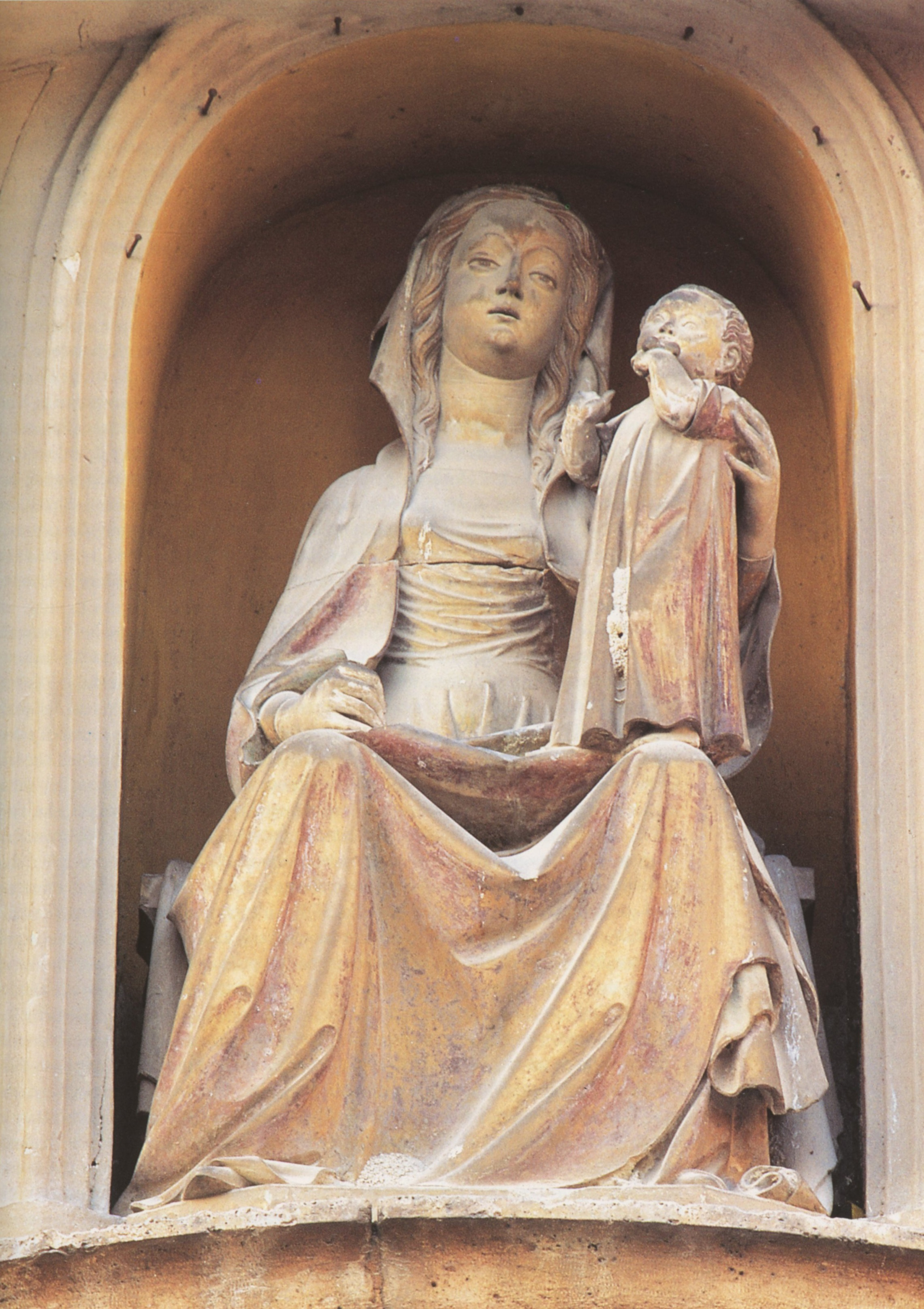 Campli: ridonata alla Chiesa la statua della Madonna