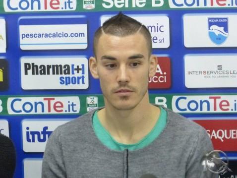 "Pescara calcio Pasquato ""Ambiente fantastico"""