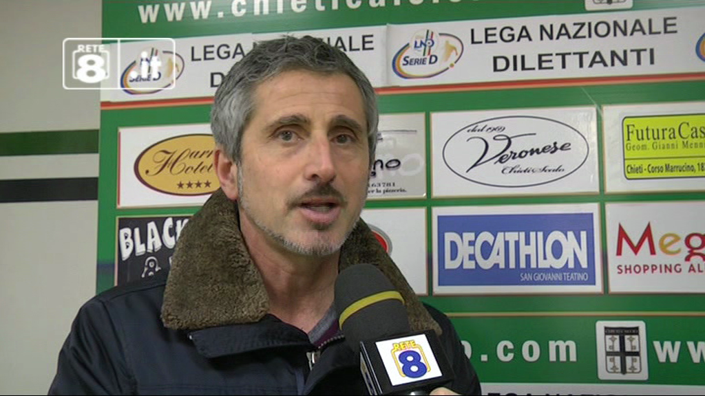 """Chieti, Marino: """"Le ambizioni? Fare subito bene""""."""