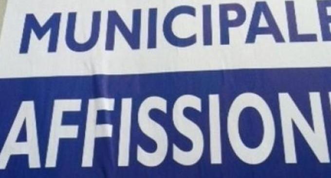 Montesilvano: tolleranza zero contro affissioni abusive