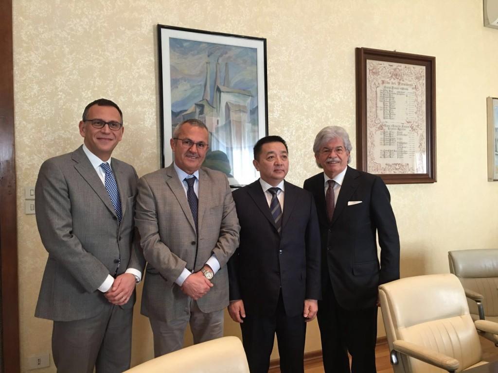 Ambasciatore della Mongolia in Abruzzo