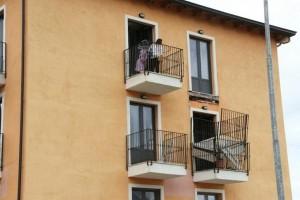 balcone crollato l'aquila