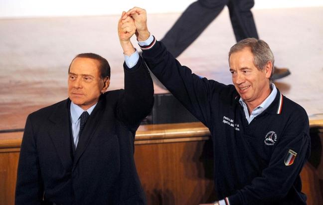 """Berlusconi sarà a L'Aquila con Bertolaso """"accolti da eroi"""" ( VIDEO)"""