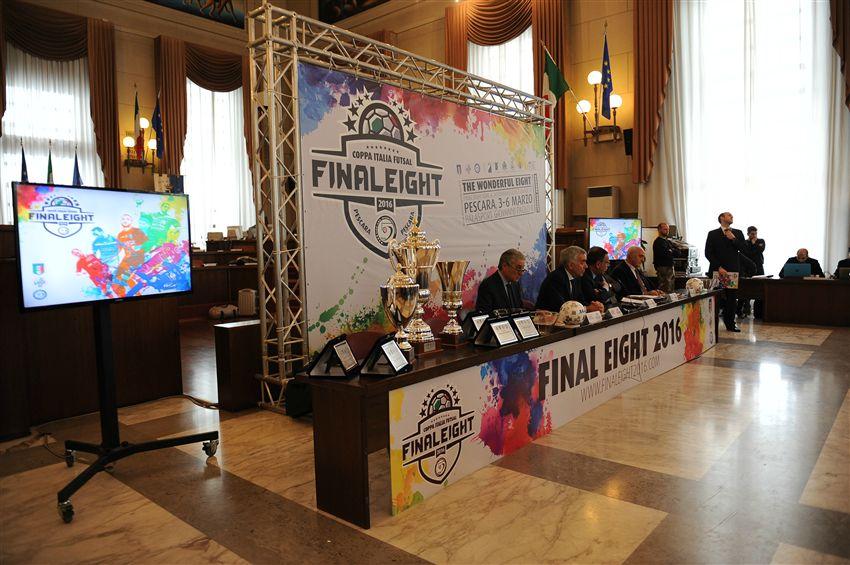 Futsal, a Pescara sorteggio delle Final Eight di Coppa