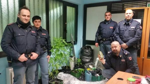 Villa Comunale Teramo: Blitz anti droga 3 denunce