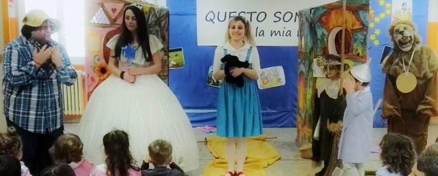 """Chieti: """"Il Mago di Oz"""" in classe con i bimbi"""