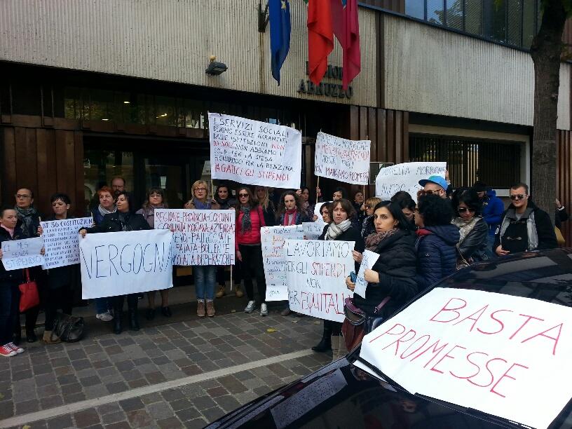 Maiella e Morrone: lavoratori senza stipendi, ora stop ai servizi