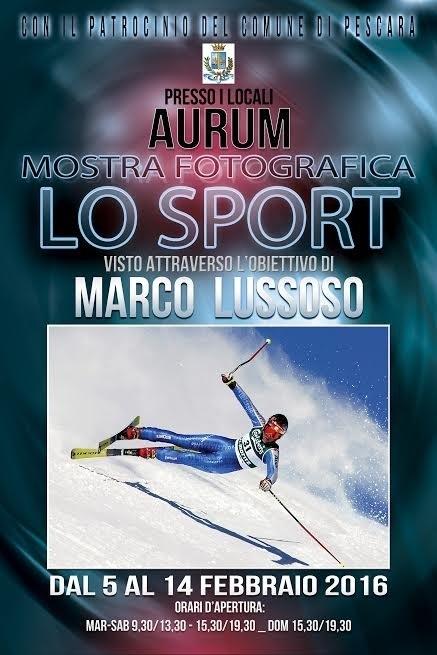 "All'Aurum la mostra ""Lo Sport"" di Marco Lussoso"