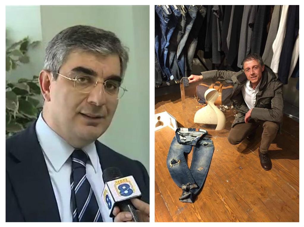 """Jeans in pietra Majella: """"D'Alfonso fammi da modello"""""""
