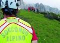 Corno Piccolo: soccorso alpinista romano