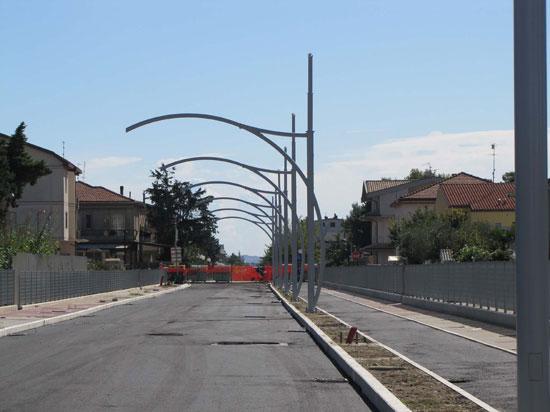 Strada Parco: vertice tecnico con TUA