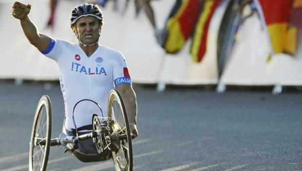 Ciclismo Paralimpico, la Nazionale a Pineto