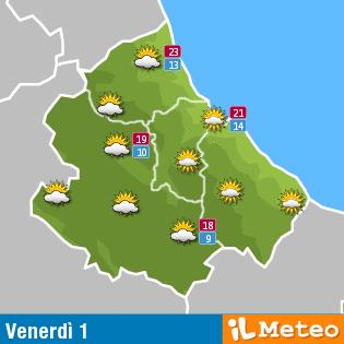 Previsioni meteo Abruzzo 1° aprile