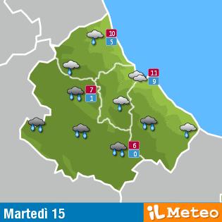 Previsioni meteo Abruzzo 15 marzo