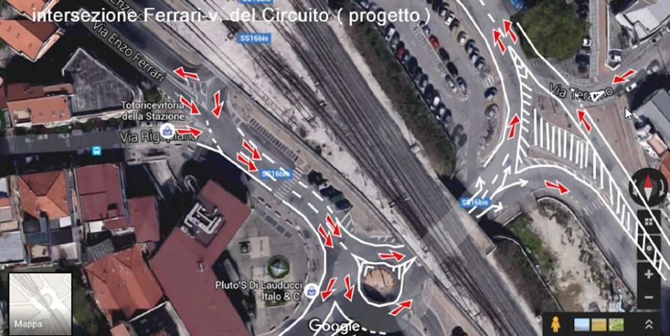 Pescara, cambio di viabilità in via Ferrari
