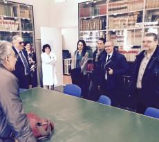 'Grillini' in visita ispettiva alla sede dell'Arta