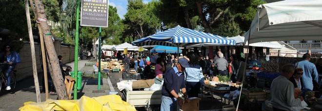 Pescara: è tornato il mercato sulla strada parco