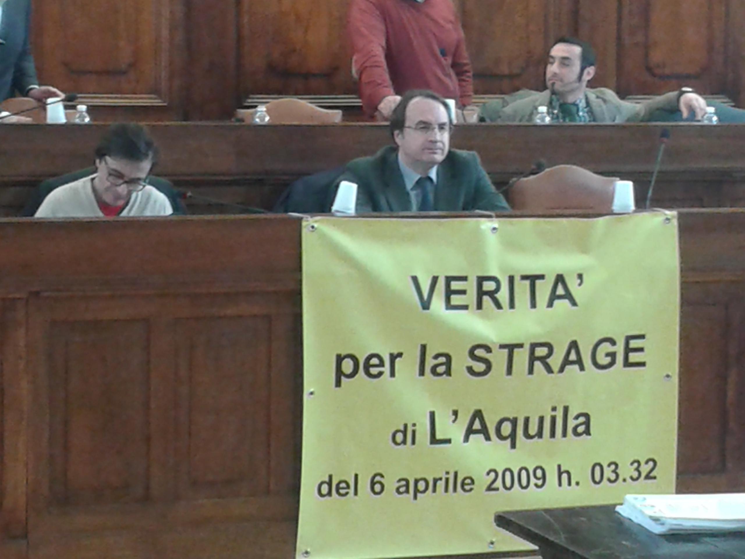 """Grandi rischi bis, Vittorini: """"Verità per la strage dell'Aquila"""""""