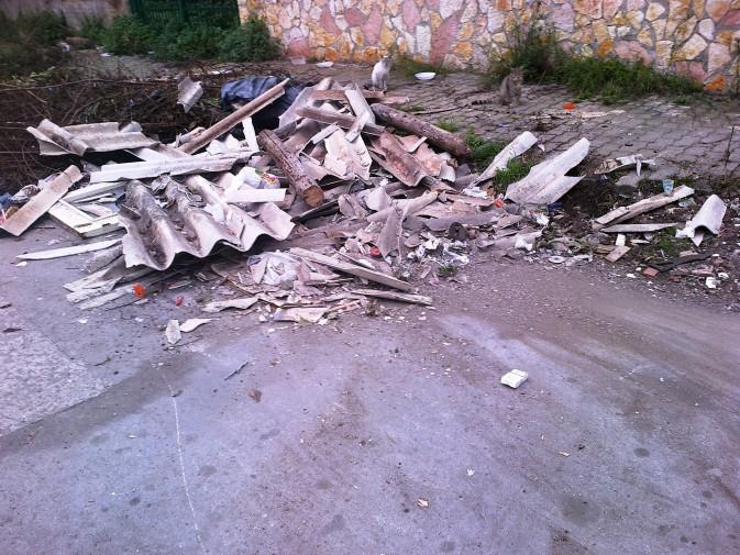 Montesilvano: lastre di amianto al Colle