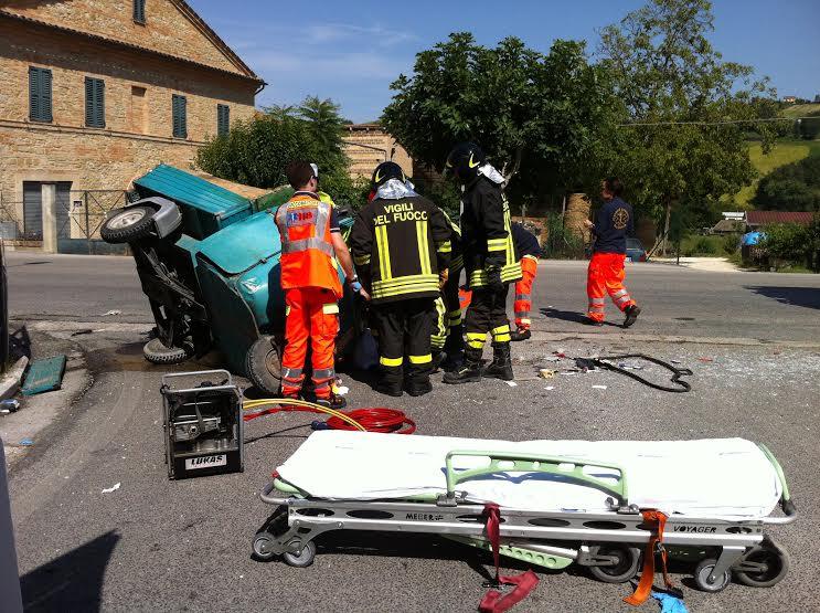 Incidente mortale a Loreto Aprutino