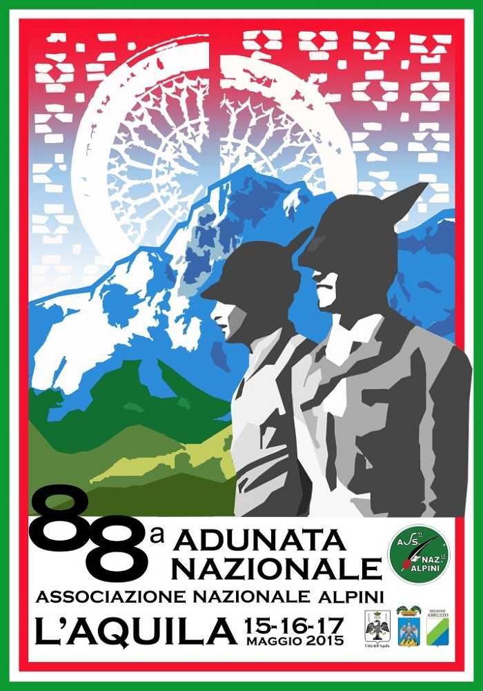L'Aquila: film documentario su 88/ma adunata Alpini