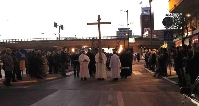 Pescara, le strade chiuse per le Processioni del venerdì santo