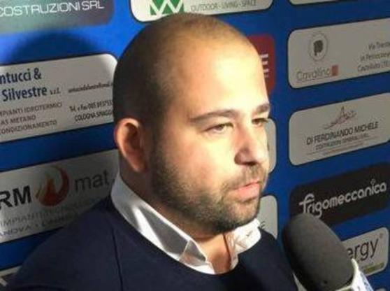 """Giulianova calcio. Serraiocco """"Io non fuggo"""""""