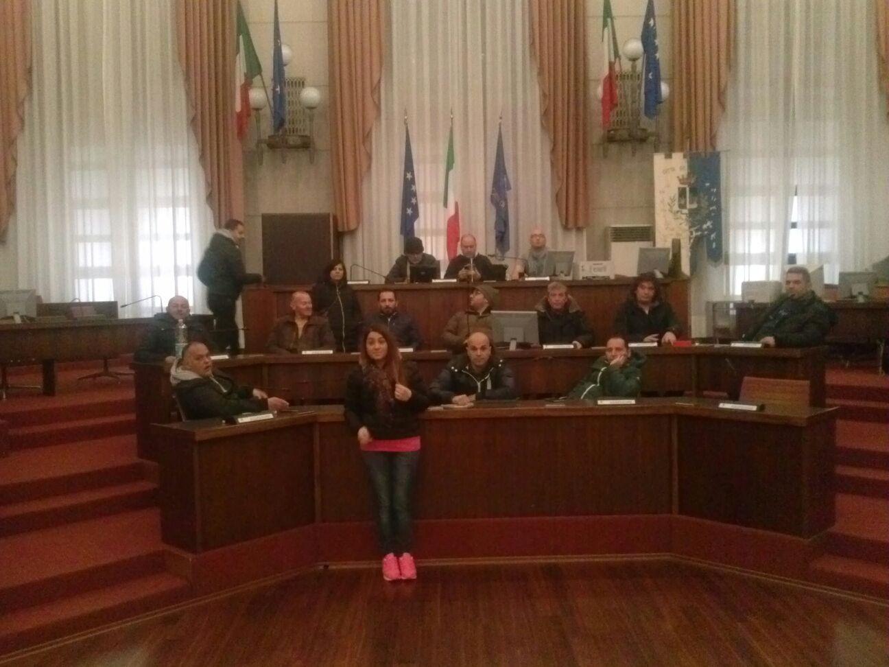 Pescara: i lavoratori di Attiva occupano il Comune