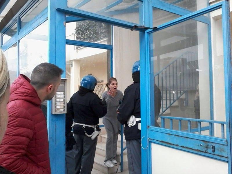 Sfrattati ad Avezzano: sgomberato l'alloggio popolare