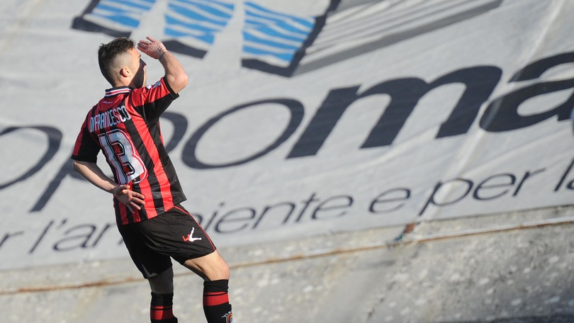 Serie B – Salernitana Lanciano, Di Francesco è super