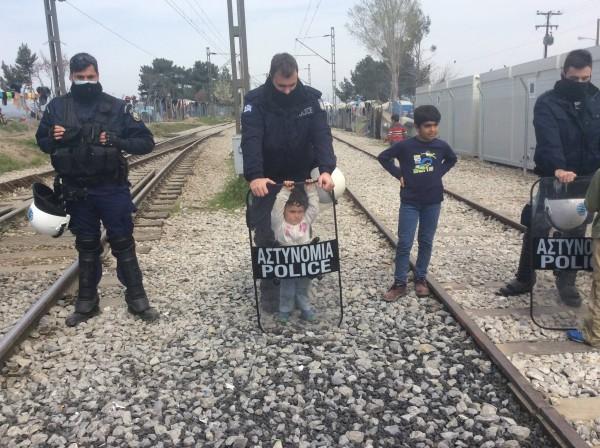 Idomeni: Aiuti abruzzesi alla frontiera