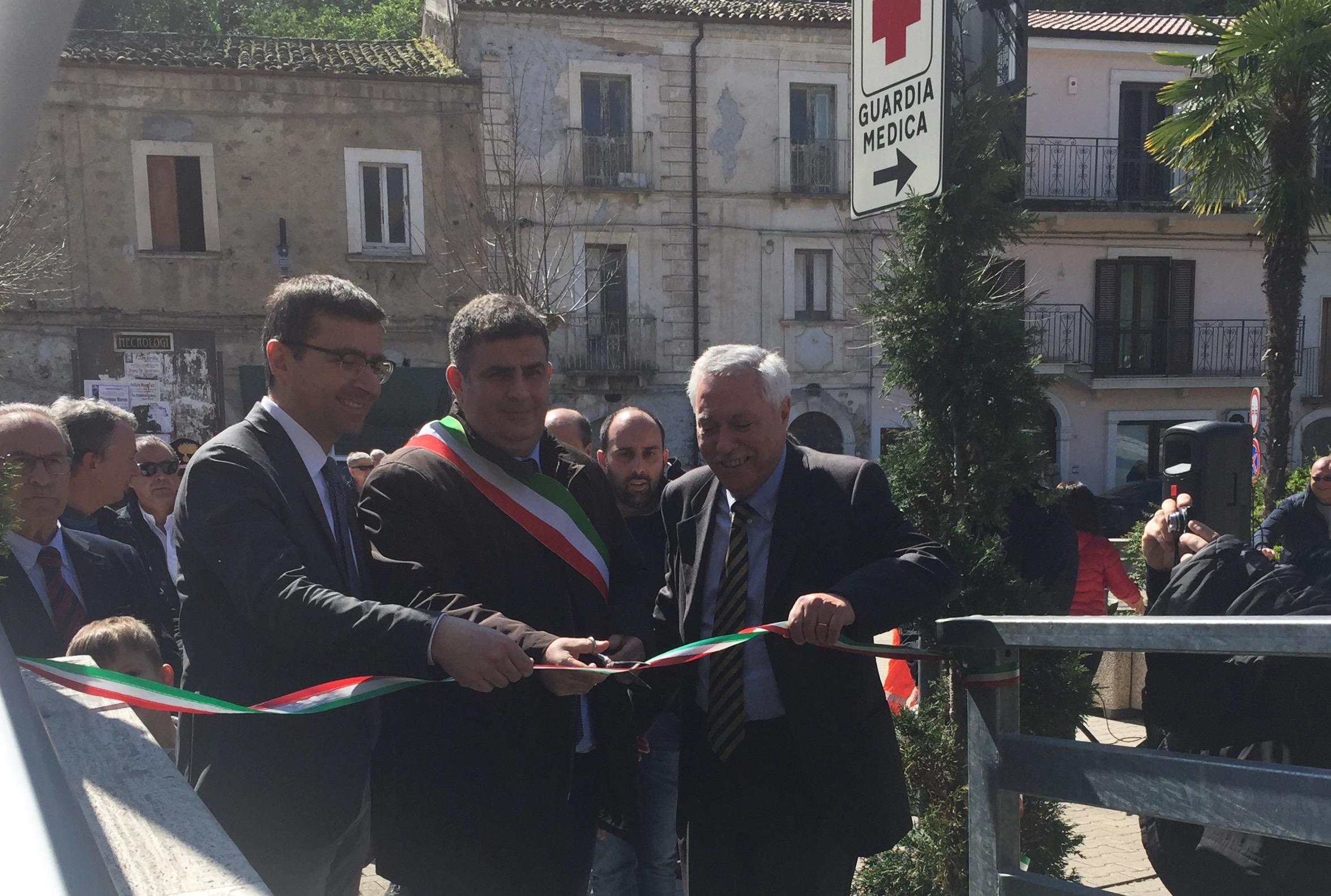 Presentati i nuovi locali del distretto sanitario a Torre de' Passeri