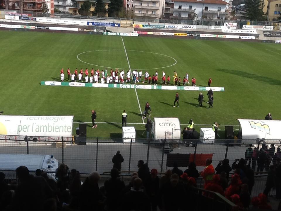 Serie B – Lanciano Perugia, sorrisi perugini