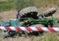 Sulmona: muore schiacciato dal suo trattore