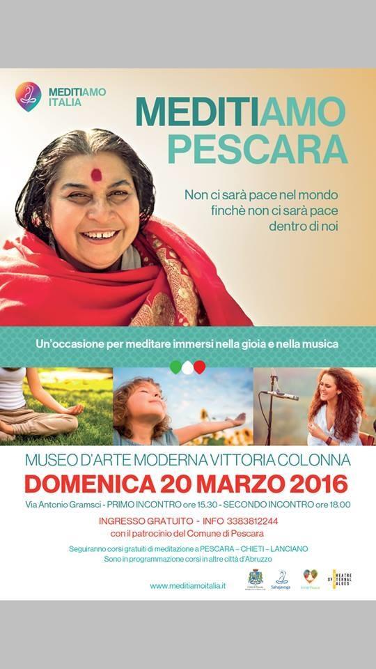 """""""Meditiamo Pescara"""" al museo Colonna"""