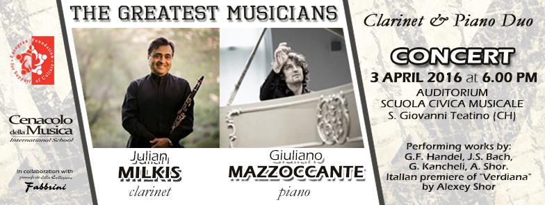 Musica di qualità a San Giovanni Teatino